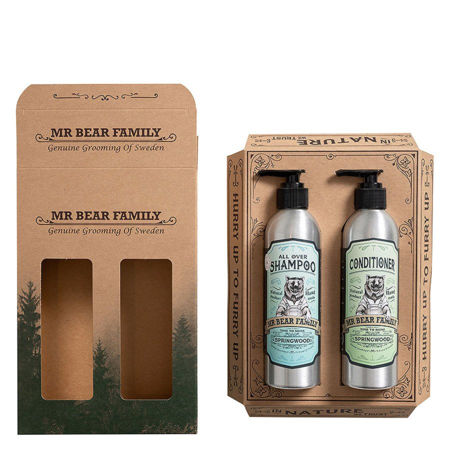 Mr Bear Family Kit Shampoo & Conditioner 2 x 250 ml