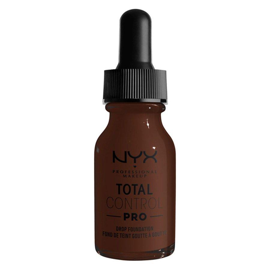 NYX Professional Makeup Total Control Pro Drop Foundation Deep Ebony 13 ml