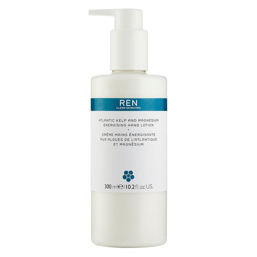 REN Clean Skincare Atlantic Kelp And Magnesium Energising Hand Lotion 300ml