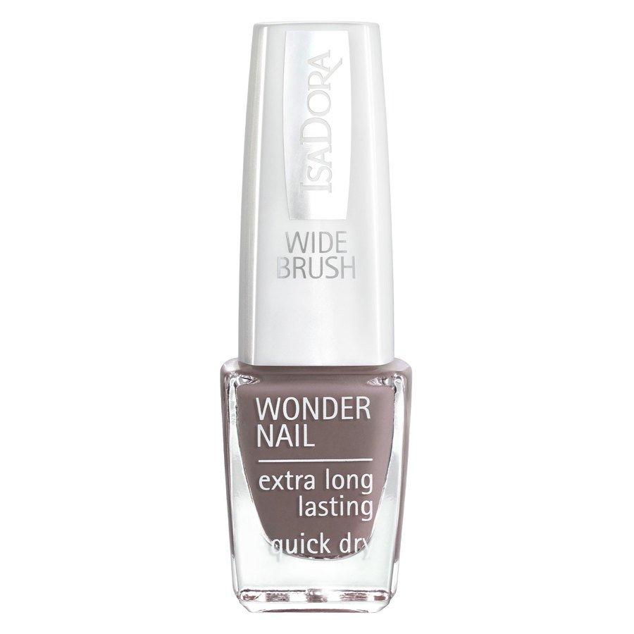 IsaDora Wonder Nail Wide Brush #611 Muddy Waters 6ml