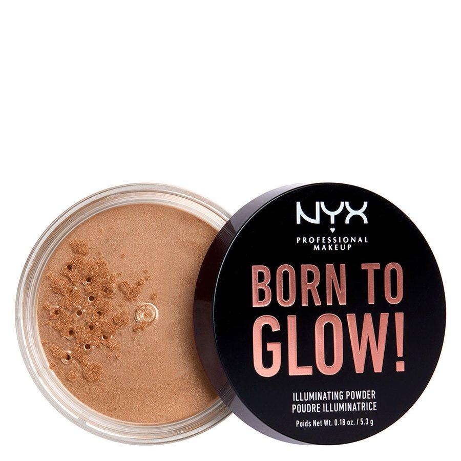 NYX Professional Makeup Born To Glow Illuminating Powder Warm Strobe 5,3 g