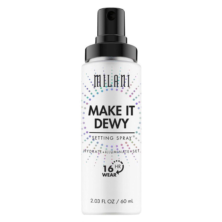 Milani Make It Dewy Spray Hydrate + Illuminate + Set