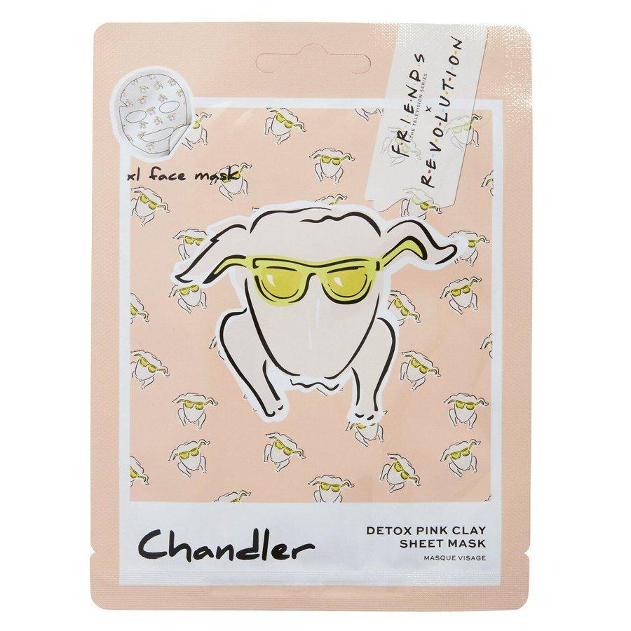 Makeup Revolution X Friends Chandler Pink Clay Sheet Mask 1 st