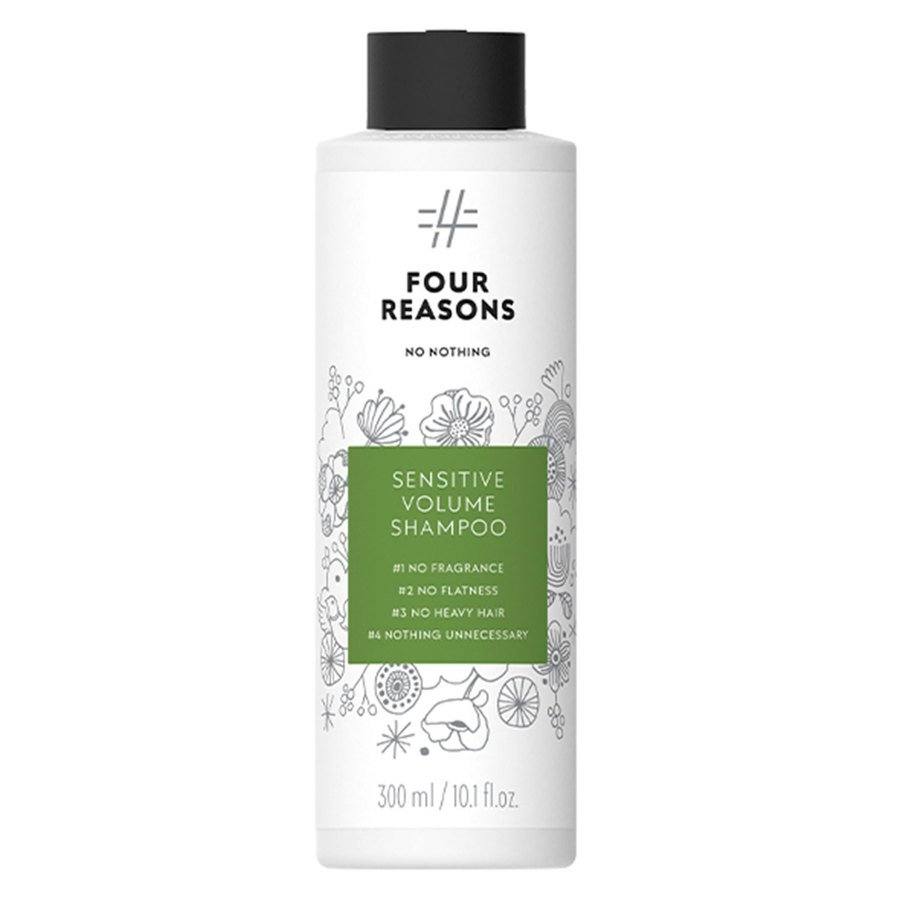 Four Reasons No Nothing Sensitive Volume Shampoo 300 ml