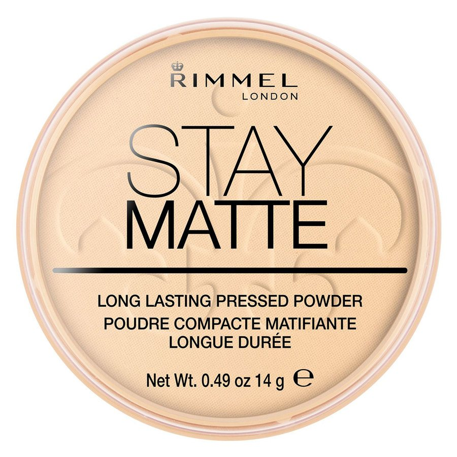 Rimmel Stay Matte Pressed Face Powder Transparent 001 14g