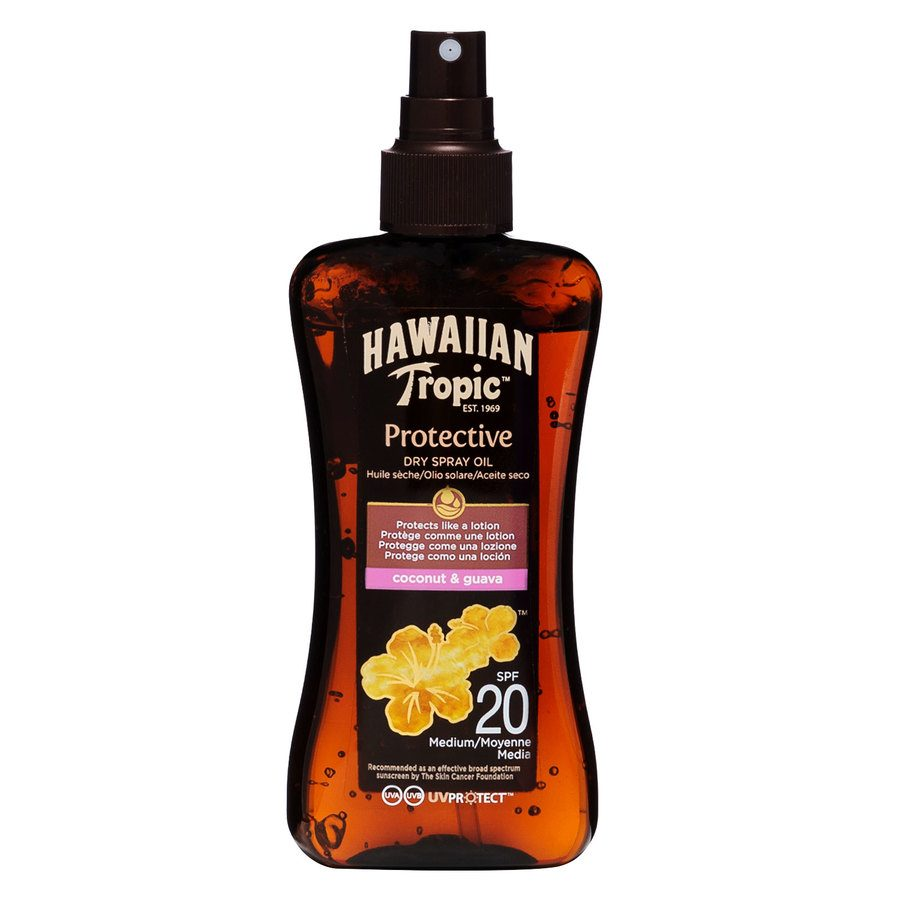 Hawaiian Tropic Protective Dry Spray Oil SPF20 200 ml