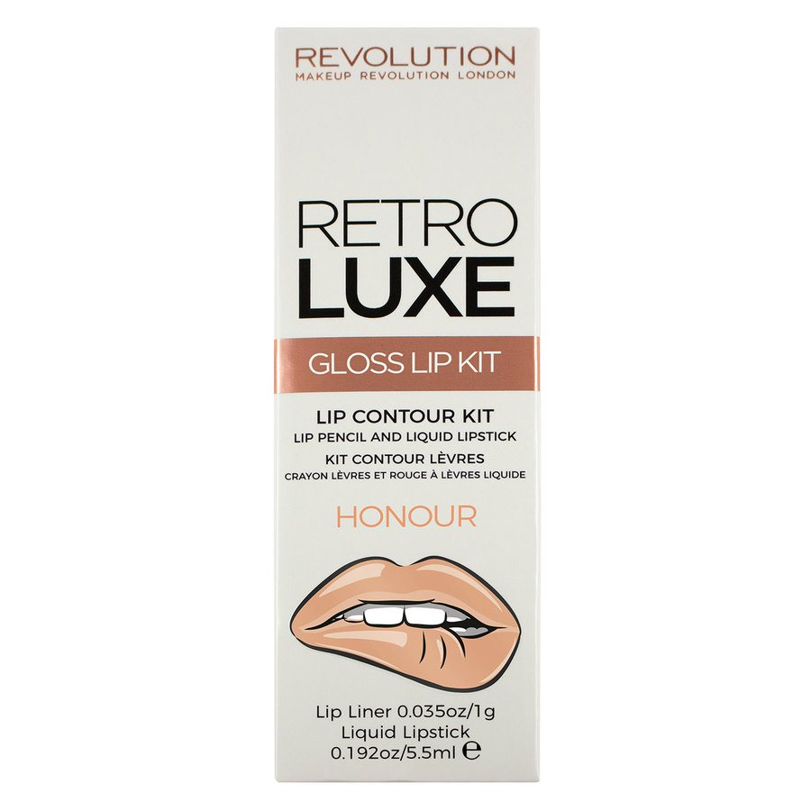 Makeup Revolution Retro Luxe Kits Gloss Honour