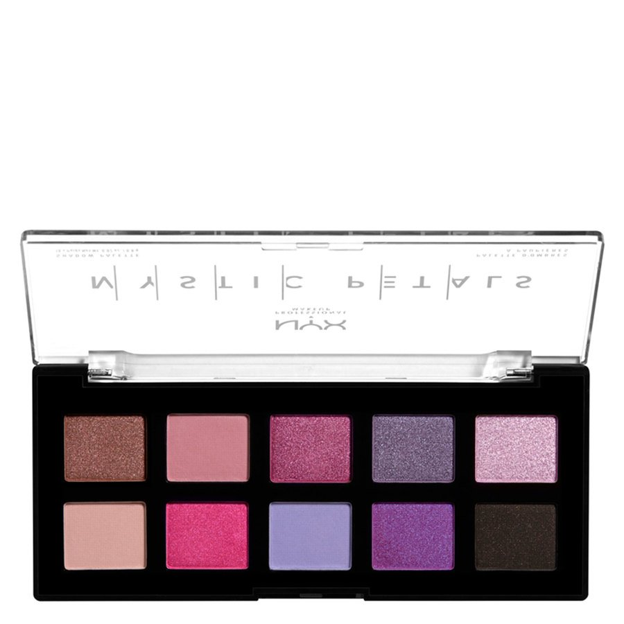 NYX Professional Makeup Mystic Petals Shadow Palette Midnight Orchid 10x0,8 g