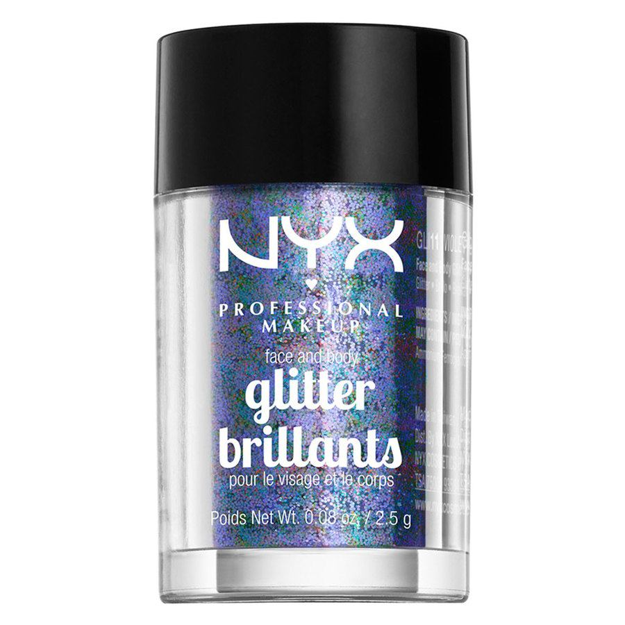 NYX Professional Makeup Face & Body Glitter Violet GLI11