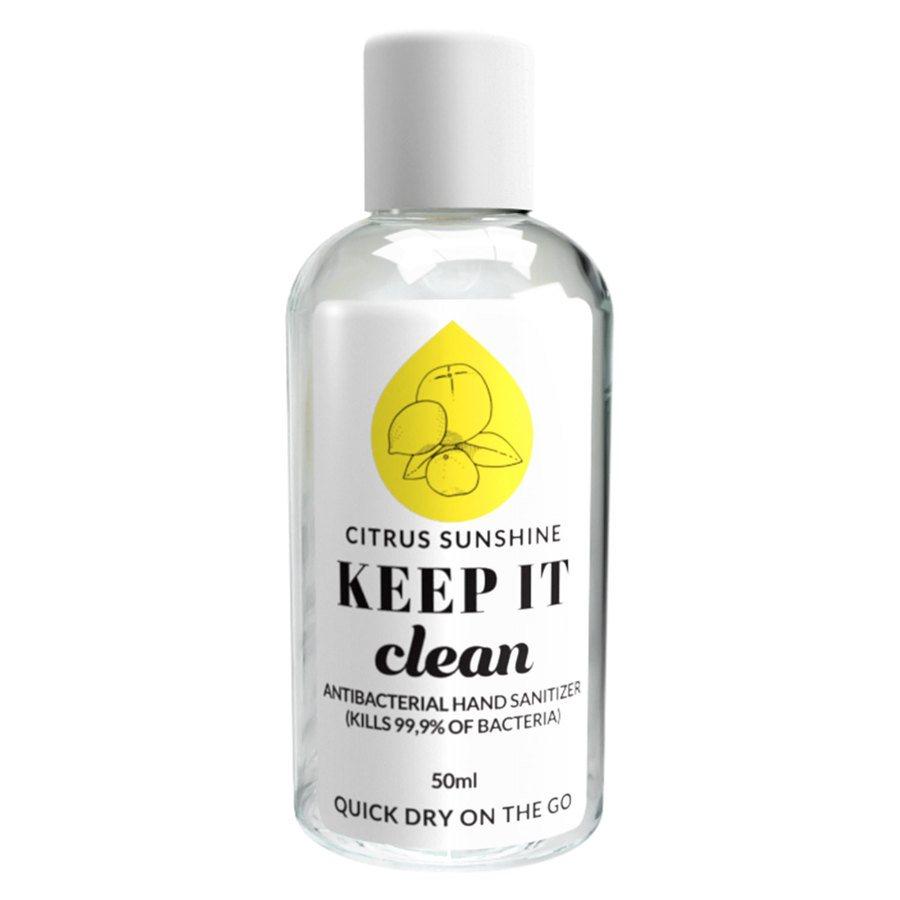Keep It Clean Citrus Sunshine Antibacterial Hand Sanitizer 50ml