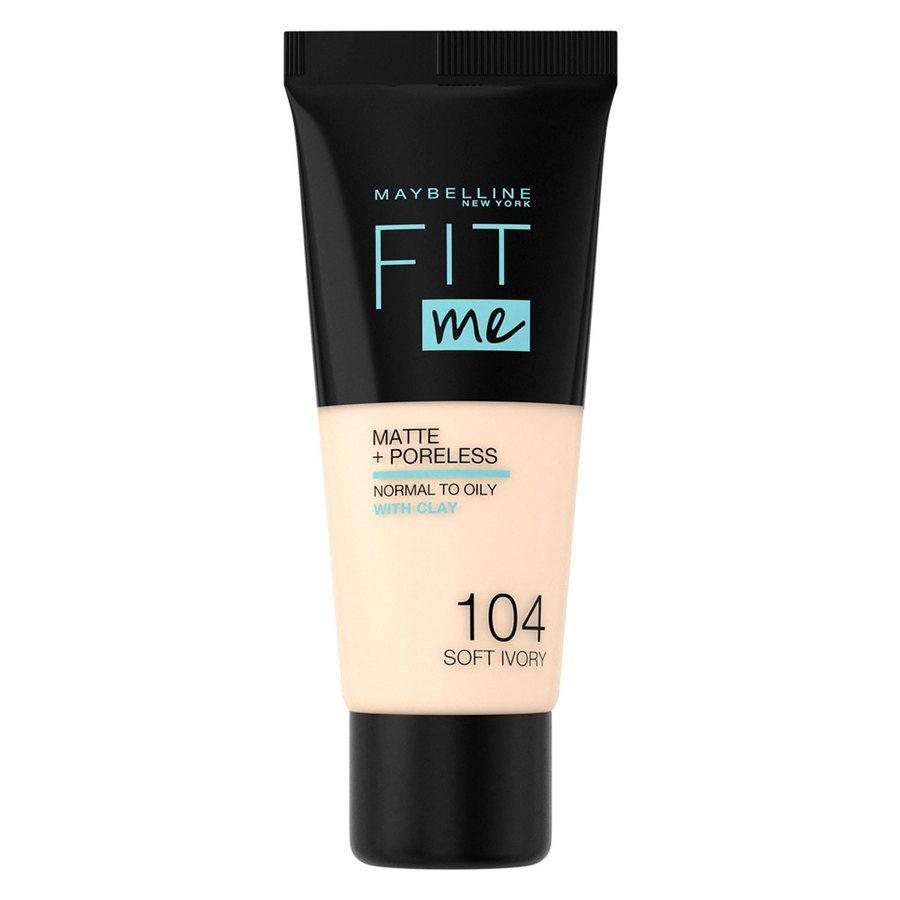Maybelline Fit Me Makeup Matte + Poreless Foundation 104 30ml Tube