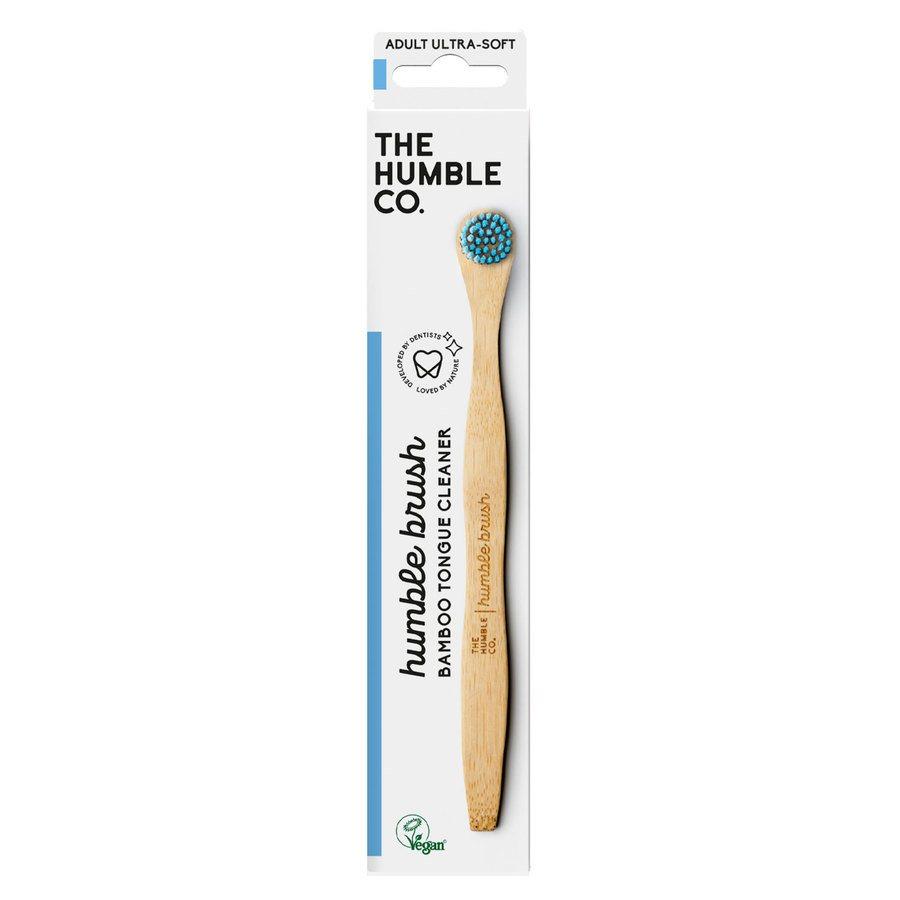 The Humble Co Humble Tongue Scraper Blue Ultra Soft