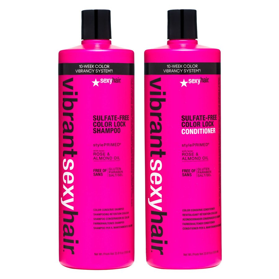 Vibrant Sexy Hair Color Lock Shampoo & Balsam 2 x 1000ml