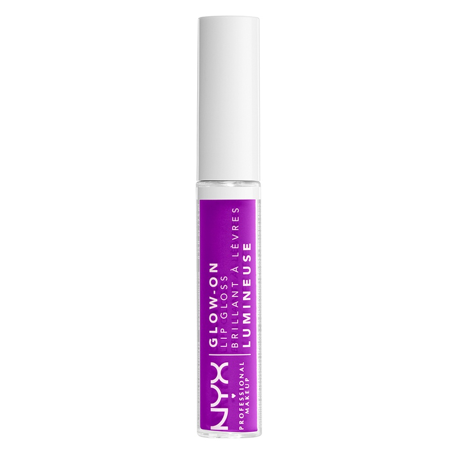 NYX Professional Makeup Glow-On Lip Gloss Lilac Vibes 7,5 ml