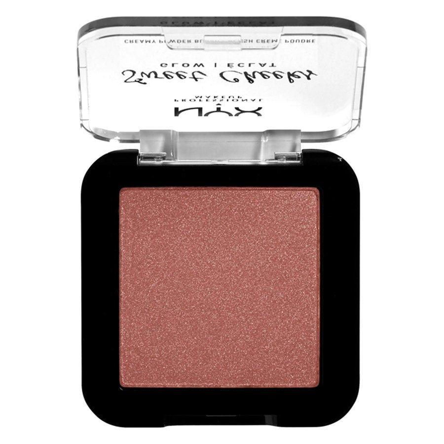 NYX Professional Makeup Sweet Cheeks Creamy Powder Blush Glowy Totally Chill 5 g
