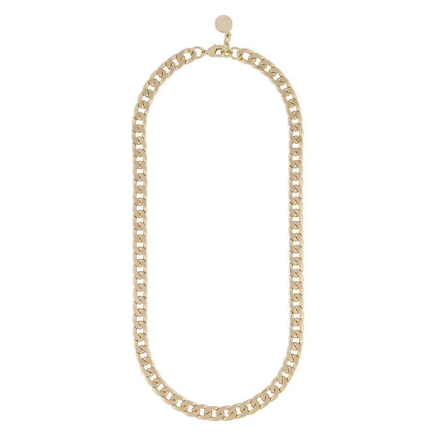 Snö of Sweden Chase Mario Medium Necklace Plain Gold 42 cm
