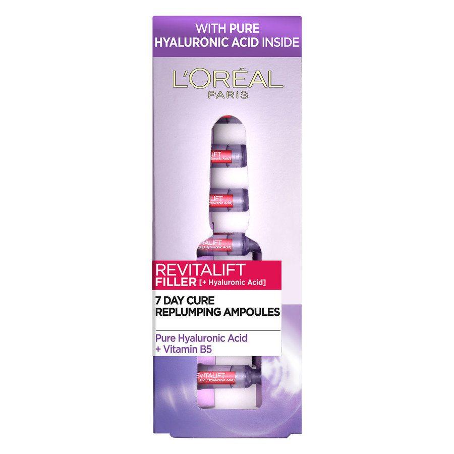 L'Oréal Paris Revitalift Filler Ampoules Hyaluronic Acid 7 x 1,3 ml