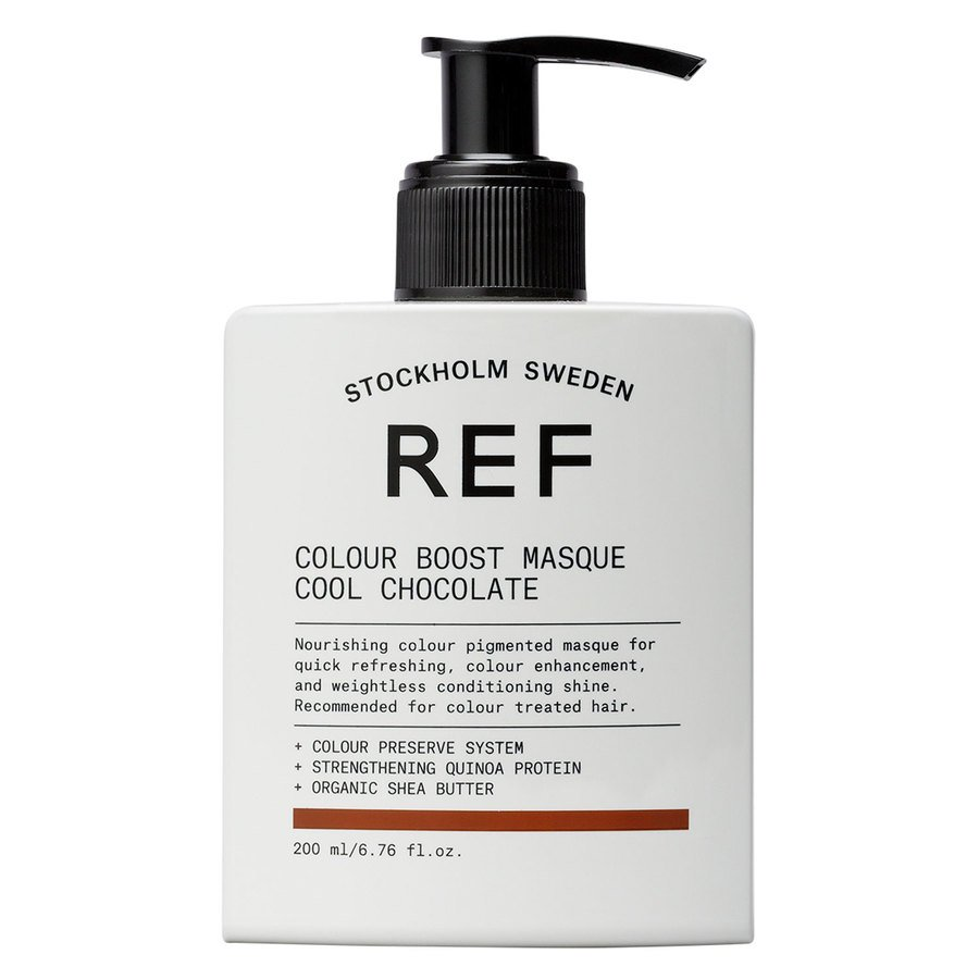 REF Color Boost Masque Cool Chocolate 200 ml