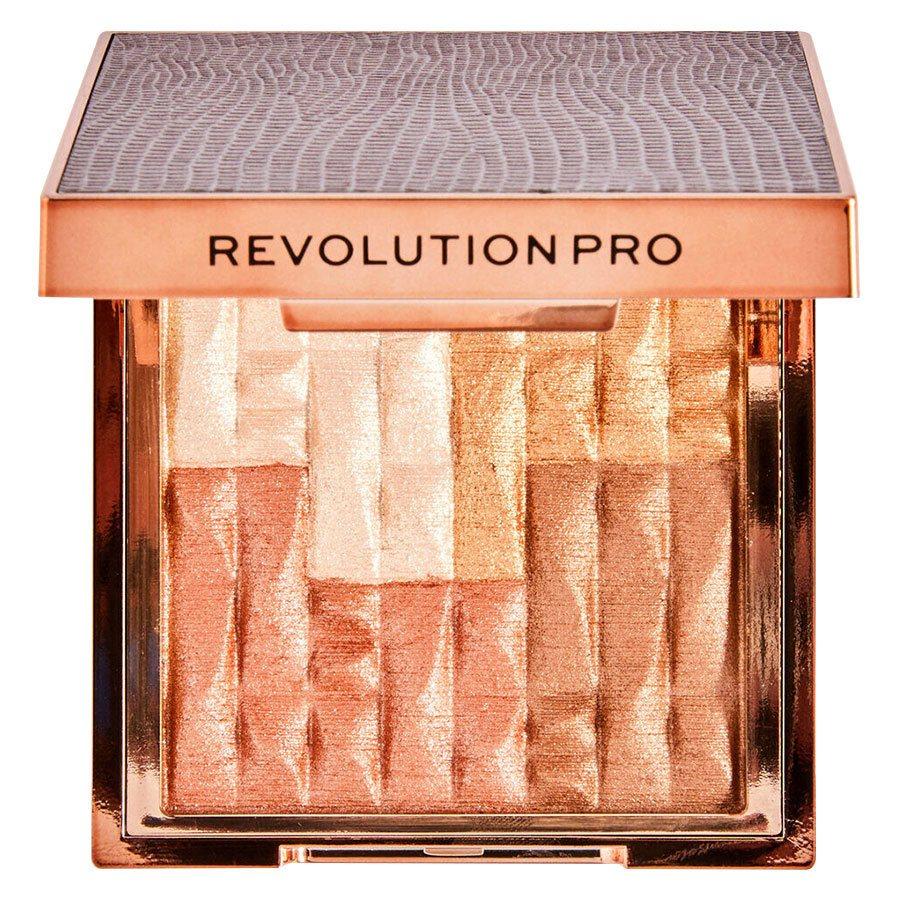 Revolution Beauty Pro Goddess Glow Shimmer Brick Bronzer Sublime 8 g