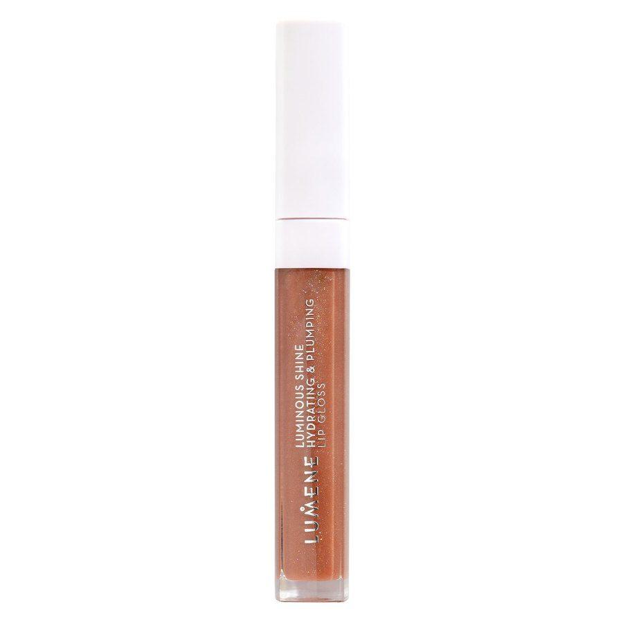 Lumene Luminous Shine Hydrating & Plumping Lip Gloss 2 Warm Nude 5 ml