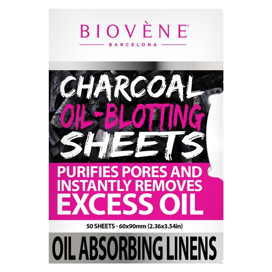 Biovène Charcoal Oil-Blotting Sheets 50 stk
