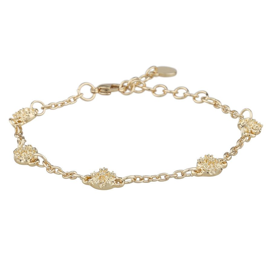 Snö of Sweden Light Chain Bracelet Plain 16–17 cm