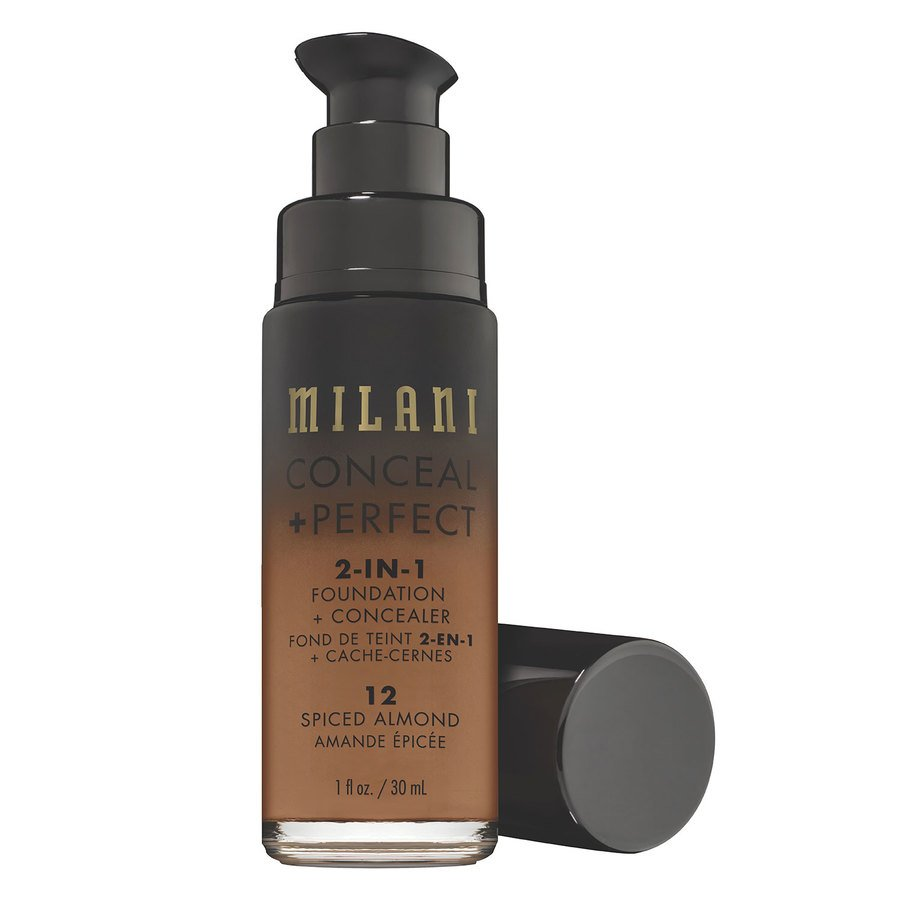 Milani Conceal & Perfect 2 In 1 Foundation + Concealer Spiced Almond 30 ml