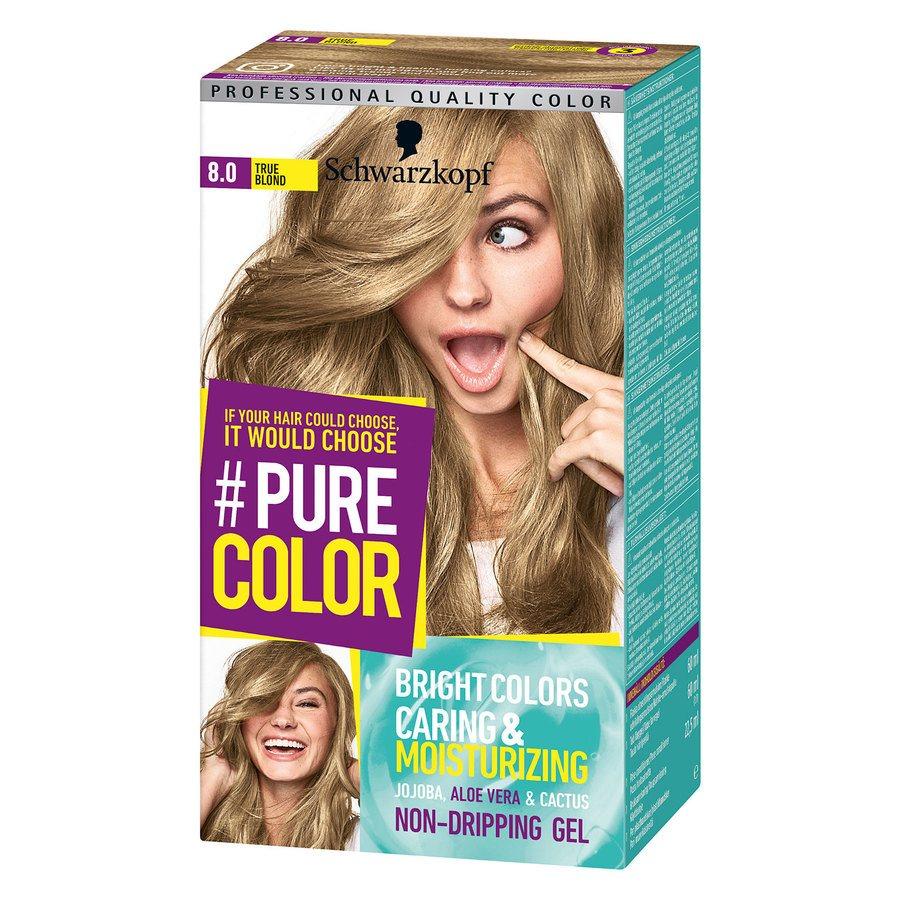 Schwarzkopf Pure Color 8.0 True Blond 142 g