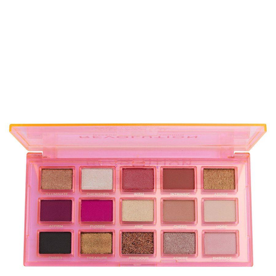 Revolution Beauty Makeup Revolution Reflective Eye Shadow Palette Sugar Ray 15 x 0,75 g