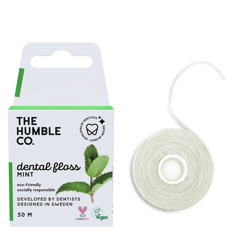 The Humble Co Dental Floss Fresh Mint 50 m