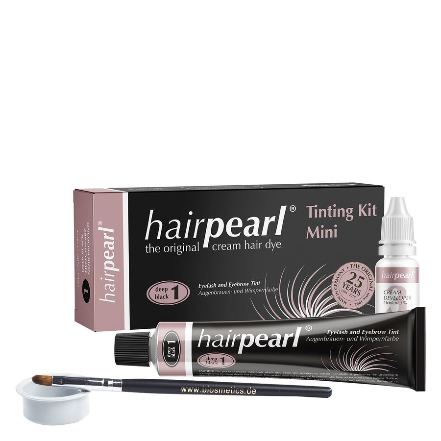Hairpearl Tinting Kit Deep Black