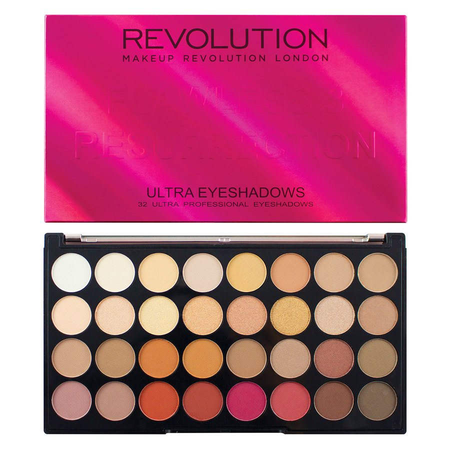 Makeup Revolution Ultra 32 Eyeshadow Palette Flawless 3 Resurrection