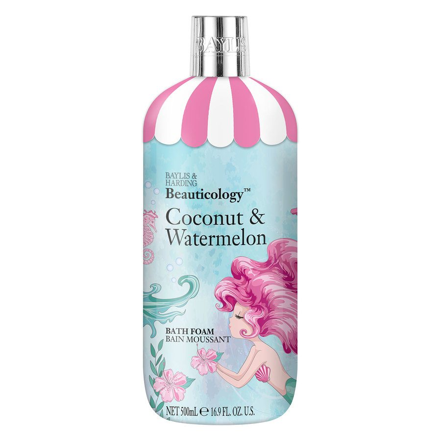 Baylis & Harding Beauticology Mermaid Coconut & Watermelon Bath Foam 500ml