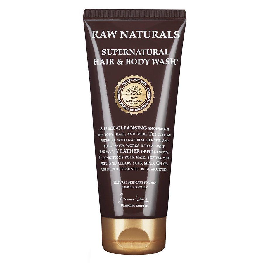 Raw Naturals Supernatural Hair & Body Wash 200 ml