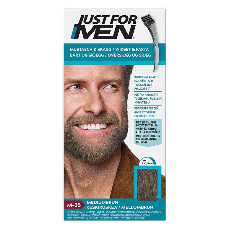 Just For Men Moustache & Beard Medium Brown 55 g