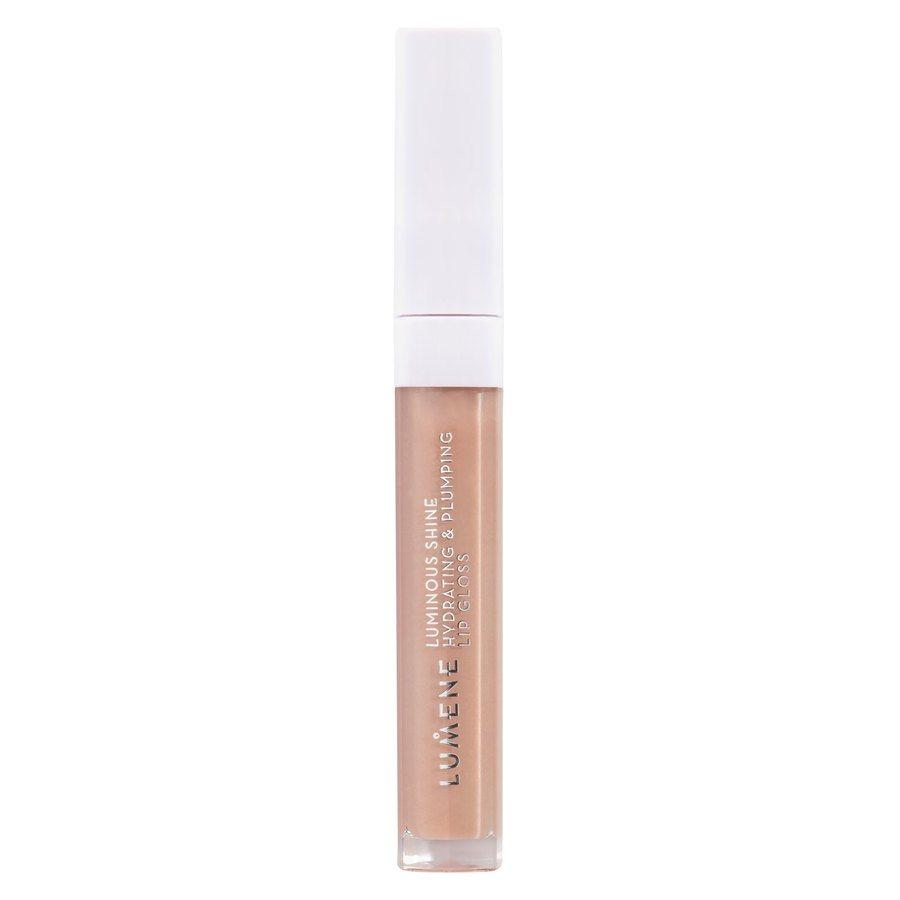 Lumene Shine Hydrating & Plumping Lip Gloss 1 Pale Honey 5 ml