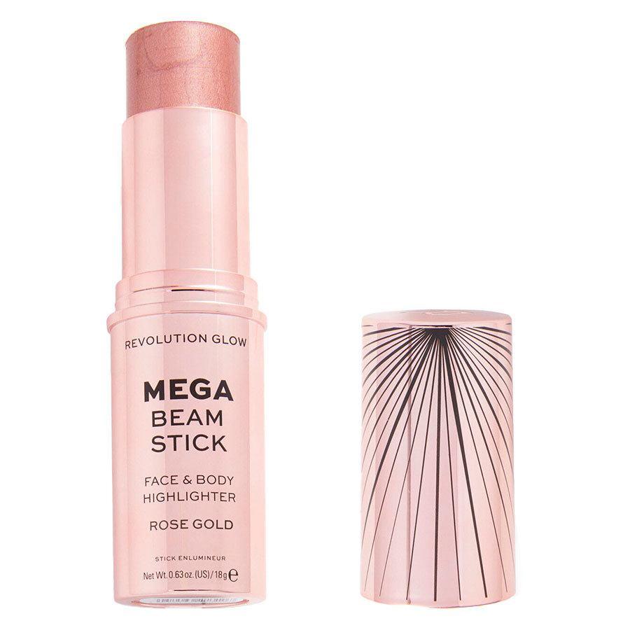 Makeup Revolution Glow Mega Beam Stick Rose Gold 18 g