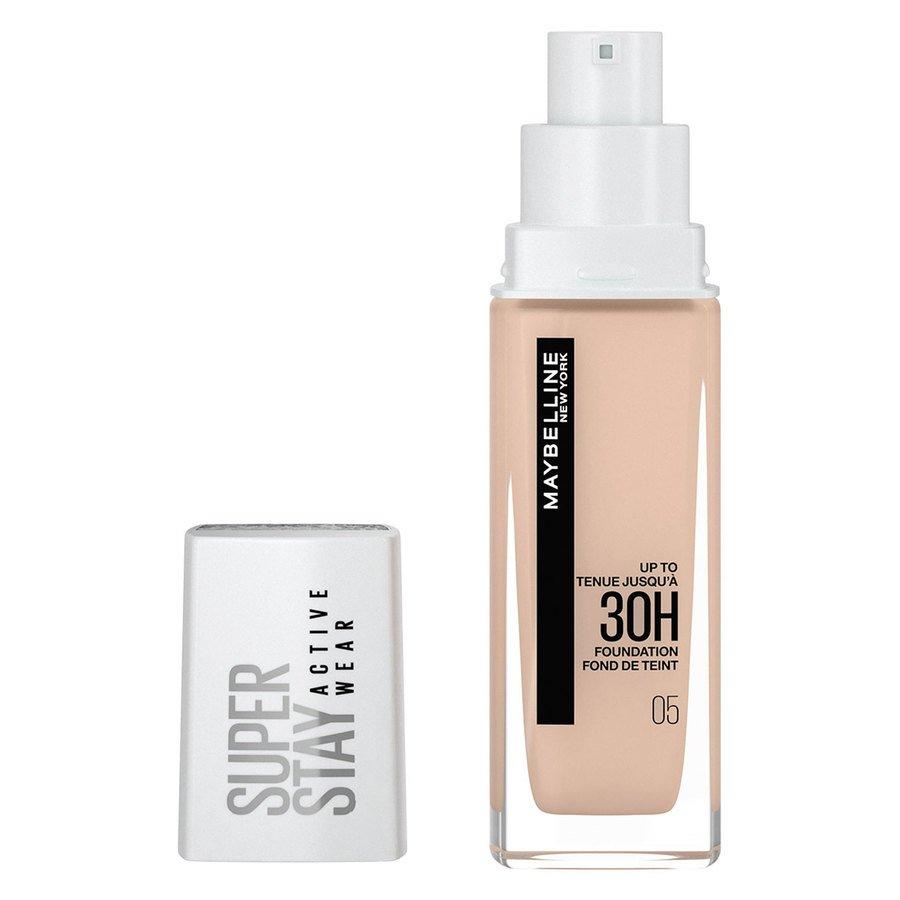 Maybelline 30H Superstay Active Wear Foundation Light Beige 30 ml