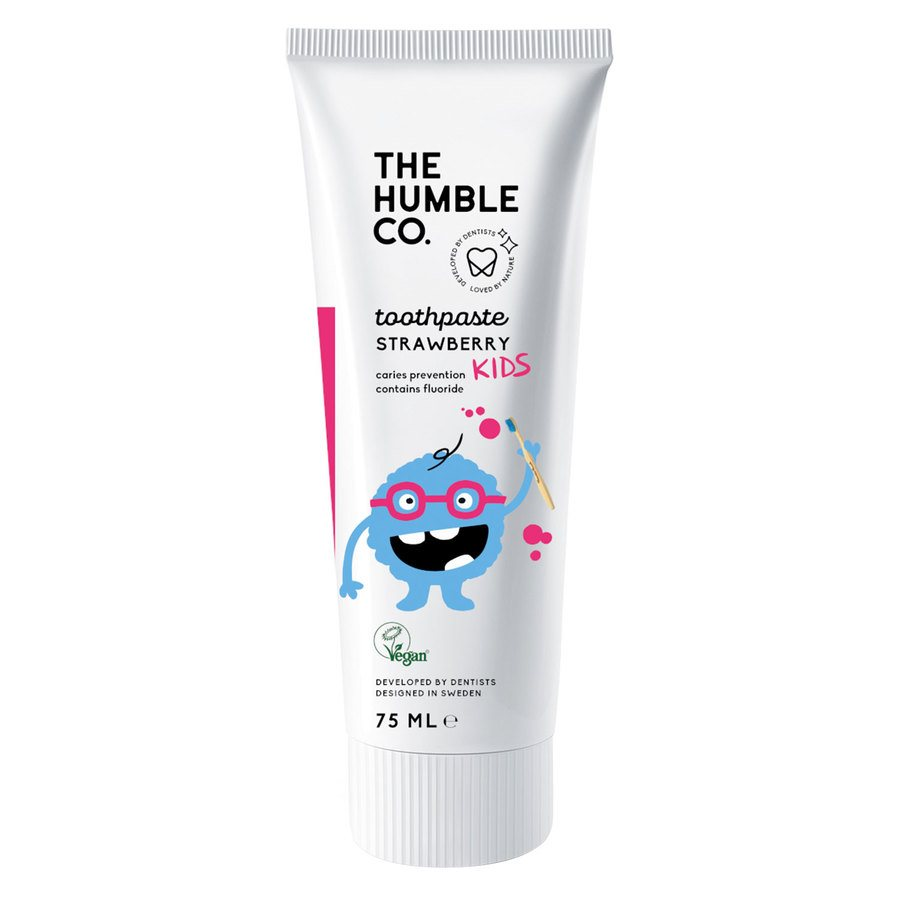 The Humble Co Humble Natural Toothpaste Kids Strawberry 75 ml