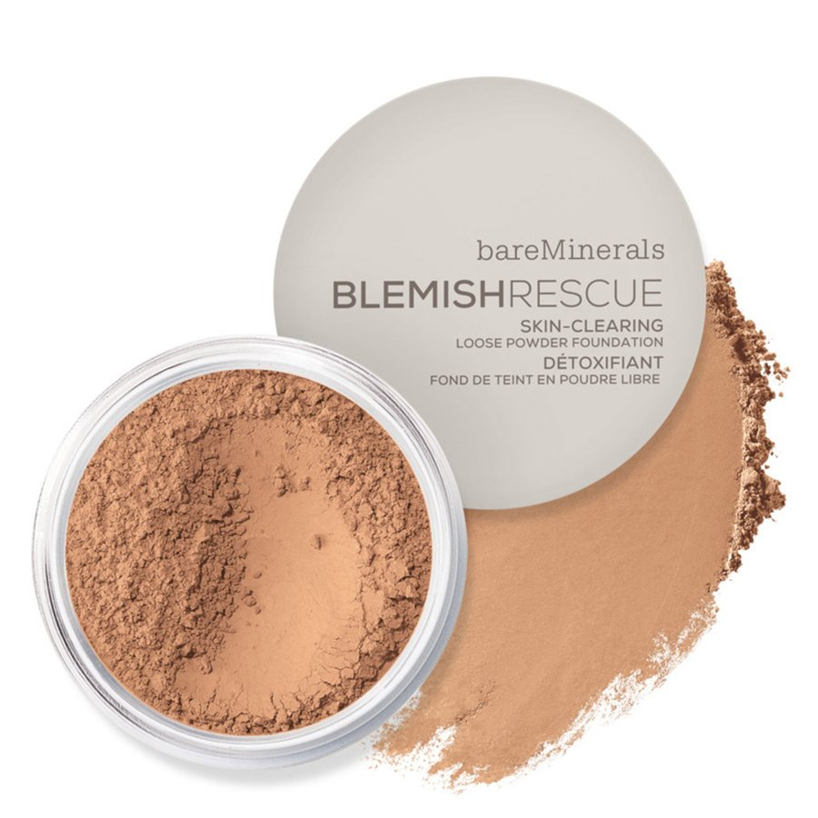 BareMinerals Blemish Rescue Skin Clearing Loose Powder Foundation Medium Tan 3.5CN 6g