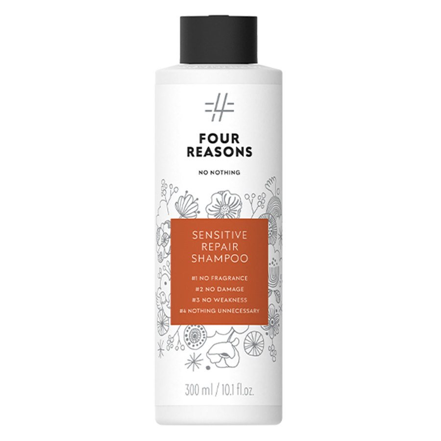 Four Reasons No Nothing Sensitive Repair Shampoo 300 ml