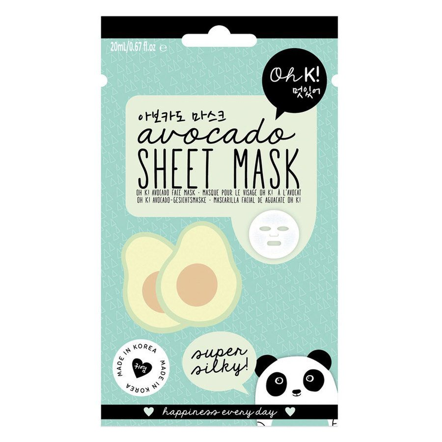 Oh K! Avokado Sheet Mask 20ml