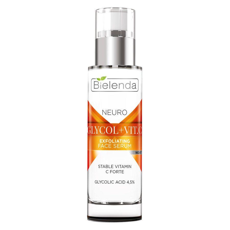 Bielenda Neuro Glicol Vit.C Exfoliating Face Serum 30 ml