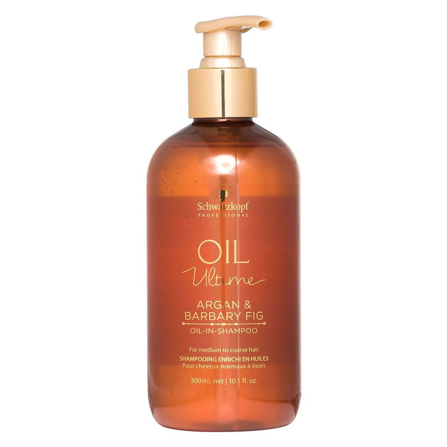 Schwarzkopf Oil Ultime Argan & Barbary Fig Oil-In-Shampoo 300 ml