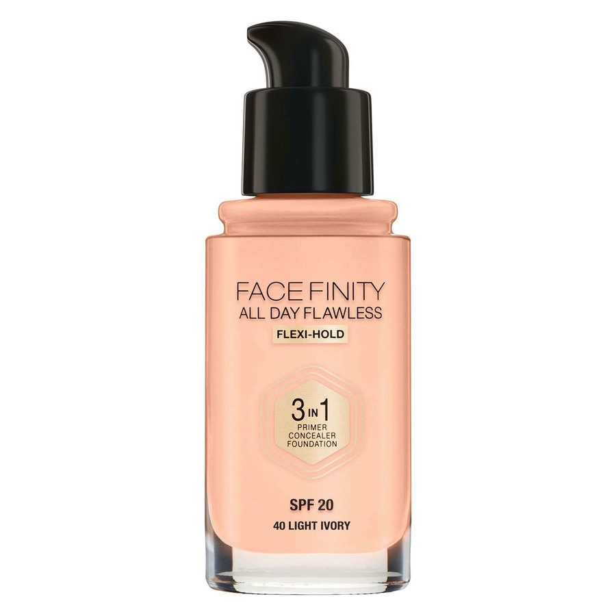 Max Factor Facefinity All Day Flawless 3-in-1 Foundation 40 Light Ivory 30 ml