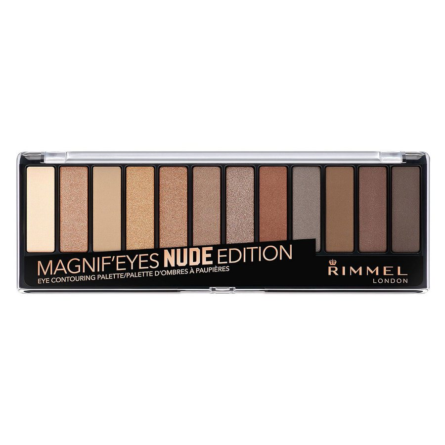 Rimmel London Magnif'eyes Eye Palette Nude Edition 14 g