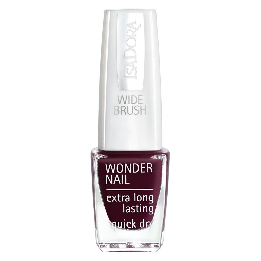 IsaDora Wonder Nail Wide Brush #418 Urban Red 6ml