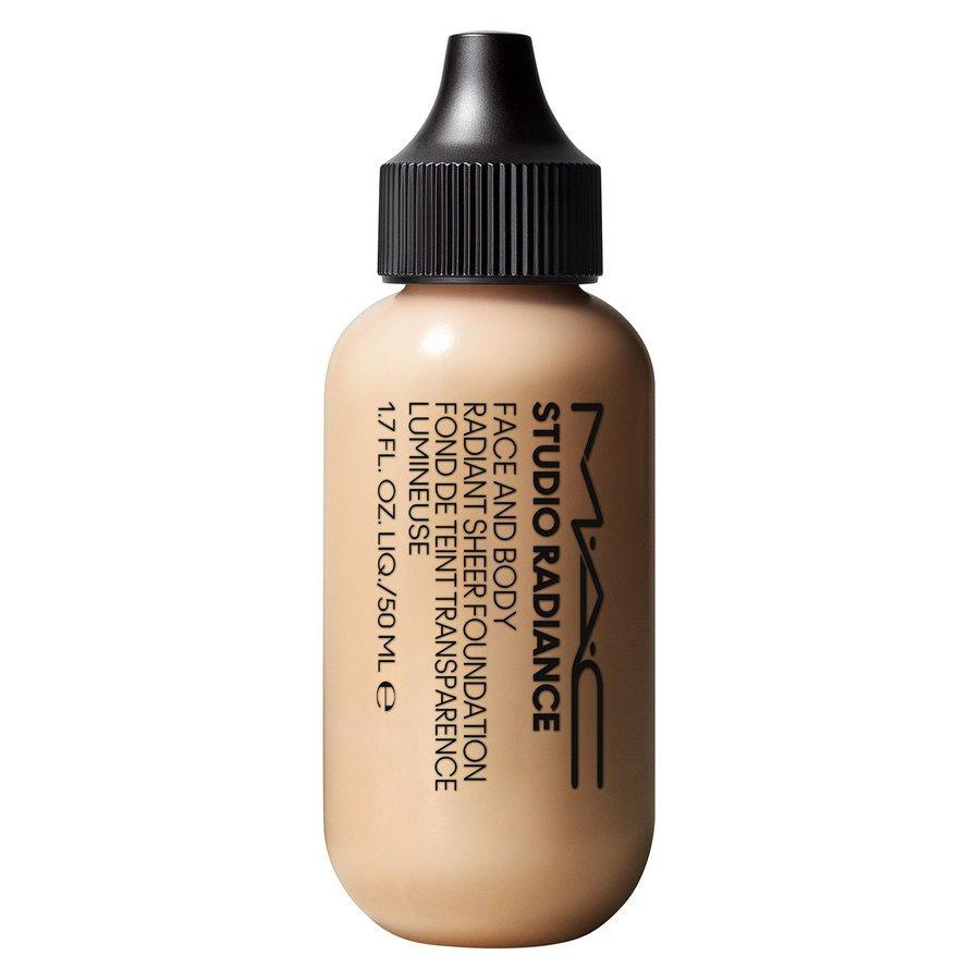 MAC Cosmetics Studio Radiance Face And Body Radiant Sheer Foundation C1 50 ml