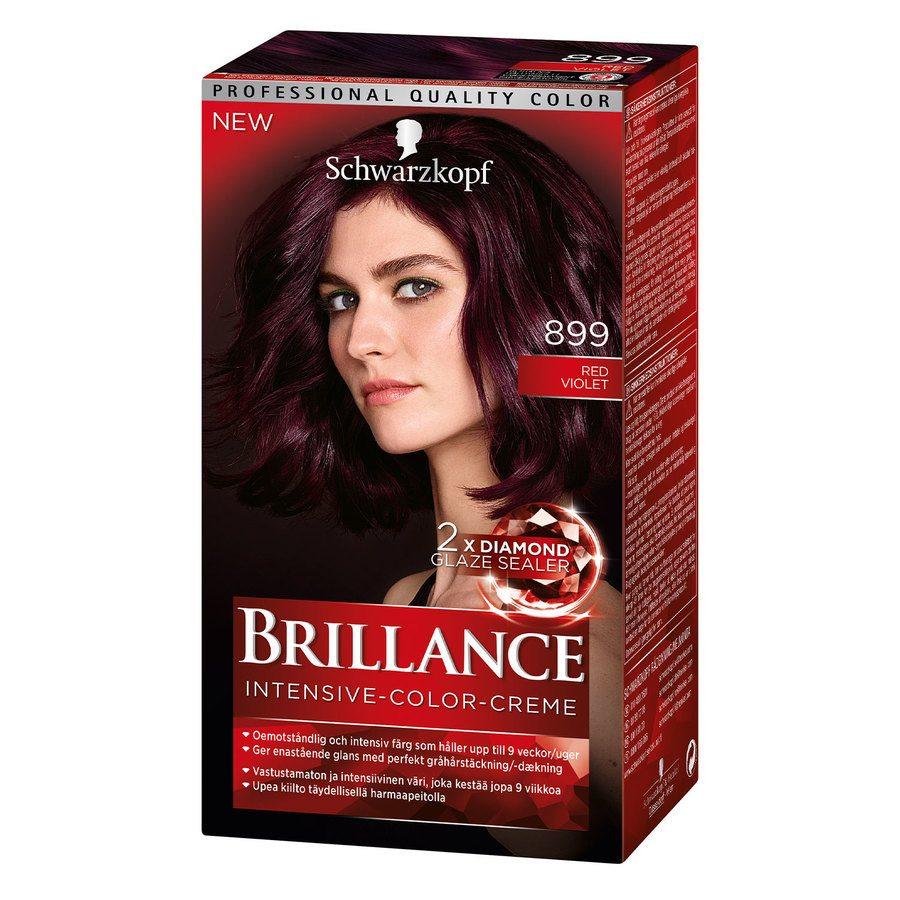 Schwarzkopf Brillance Intensive-Color-Creme 899 Red Violet