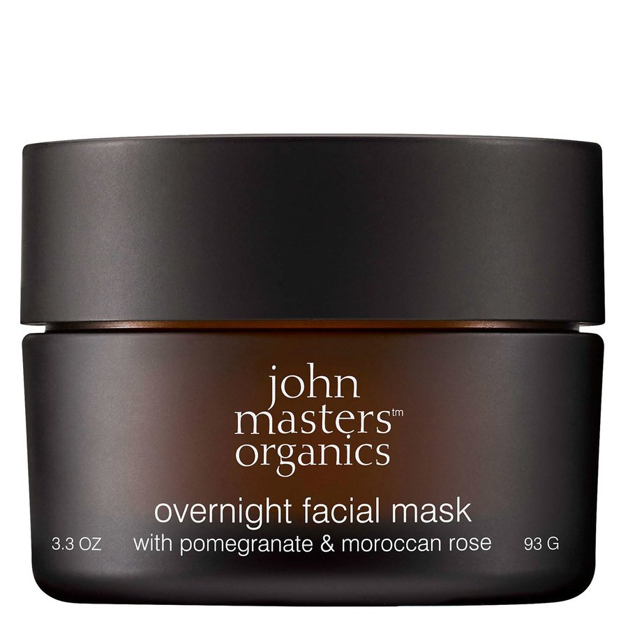 John Masters Organics Overnight Facial Mask with Pomegranate & Moroccan Rose 93 g